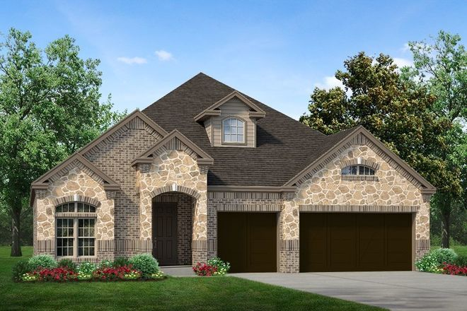 Ready To Build Home In Chisholm Trail Ranch Community
