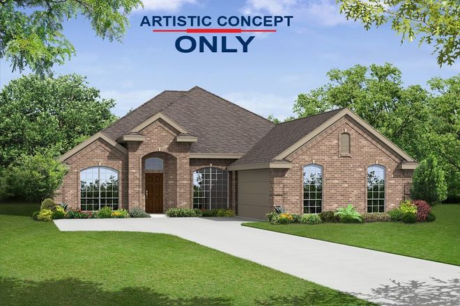 Ready To Build Home In Marine Creek Ranch Community