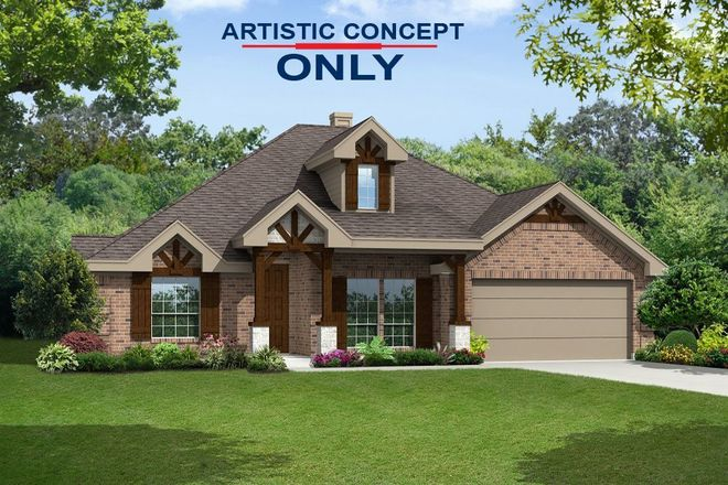 Ready To Build Home In Grayhawk Addition Community