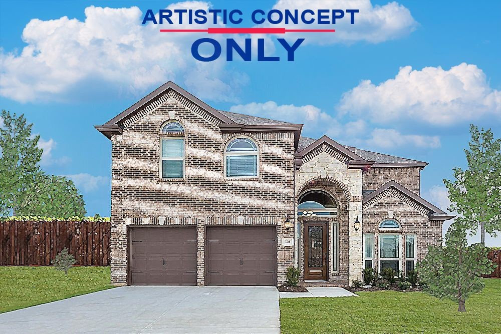 Ready To Build Home In Llano Springs Community