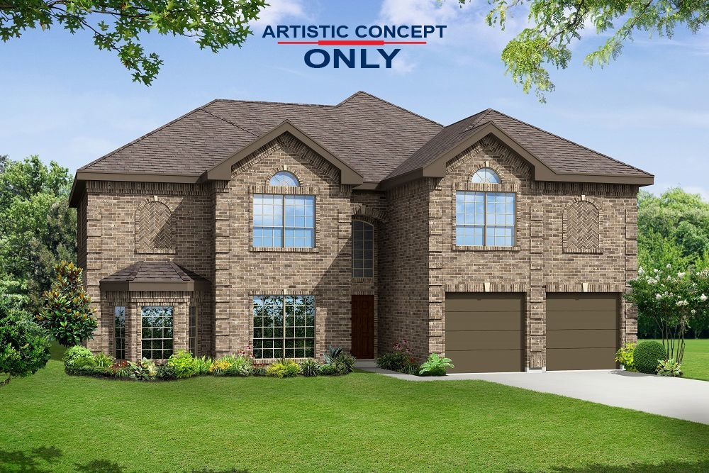 Ready To Build Home In Willow Wood Community