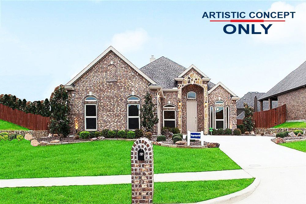 Ready To Build Home In Woods of Red Oak Community