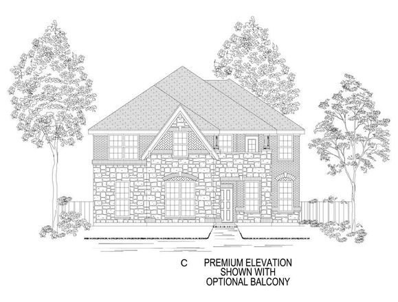 Ready To Build Home In Mercer Crossing West Community