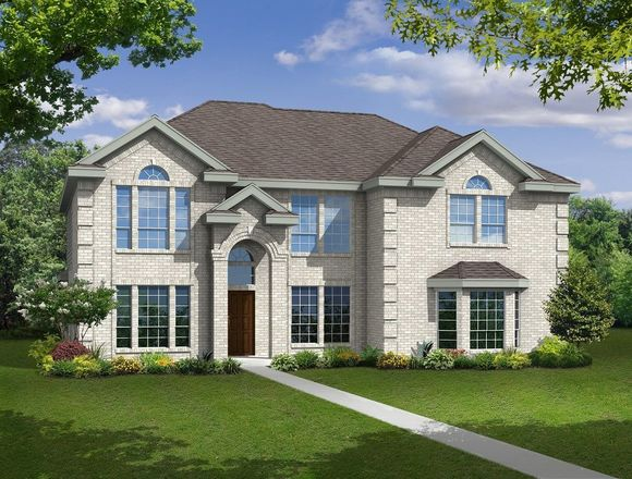 Ready To Build Home In Estates of Cole Manor Community