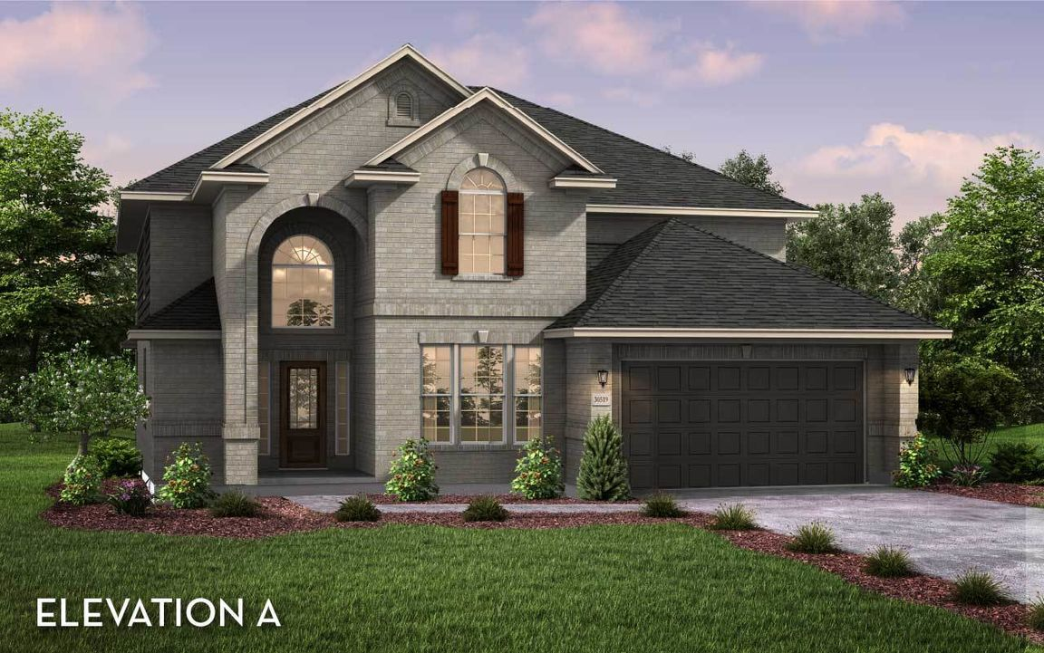 Ready To Build Home In Siena Community