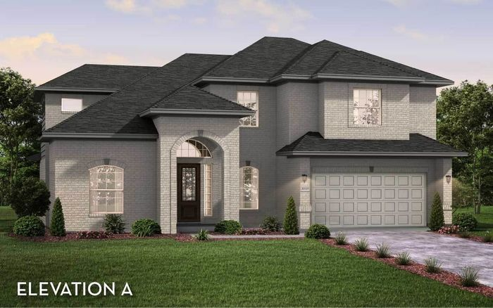 Ready To Build Home In Sonoma Verde Community