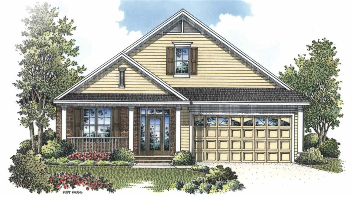 Ready To Build Home In Baileys Glen Active Adult Community