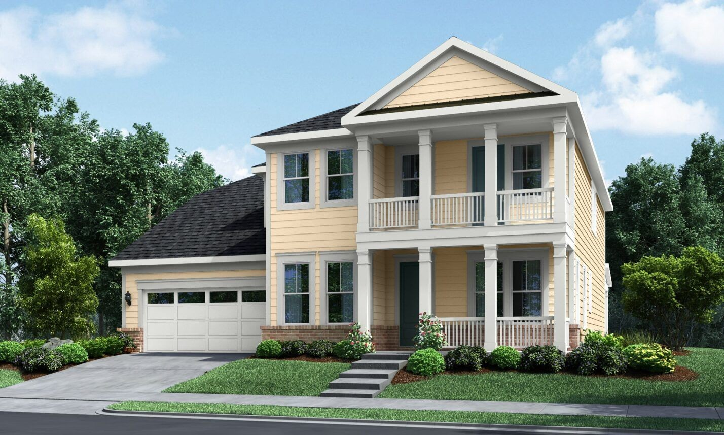 Ready To Build Home In Linden Community