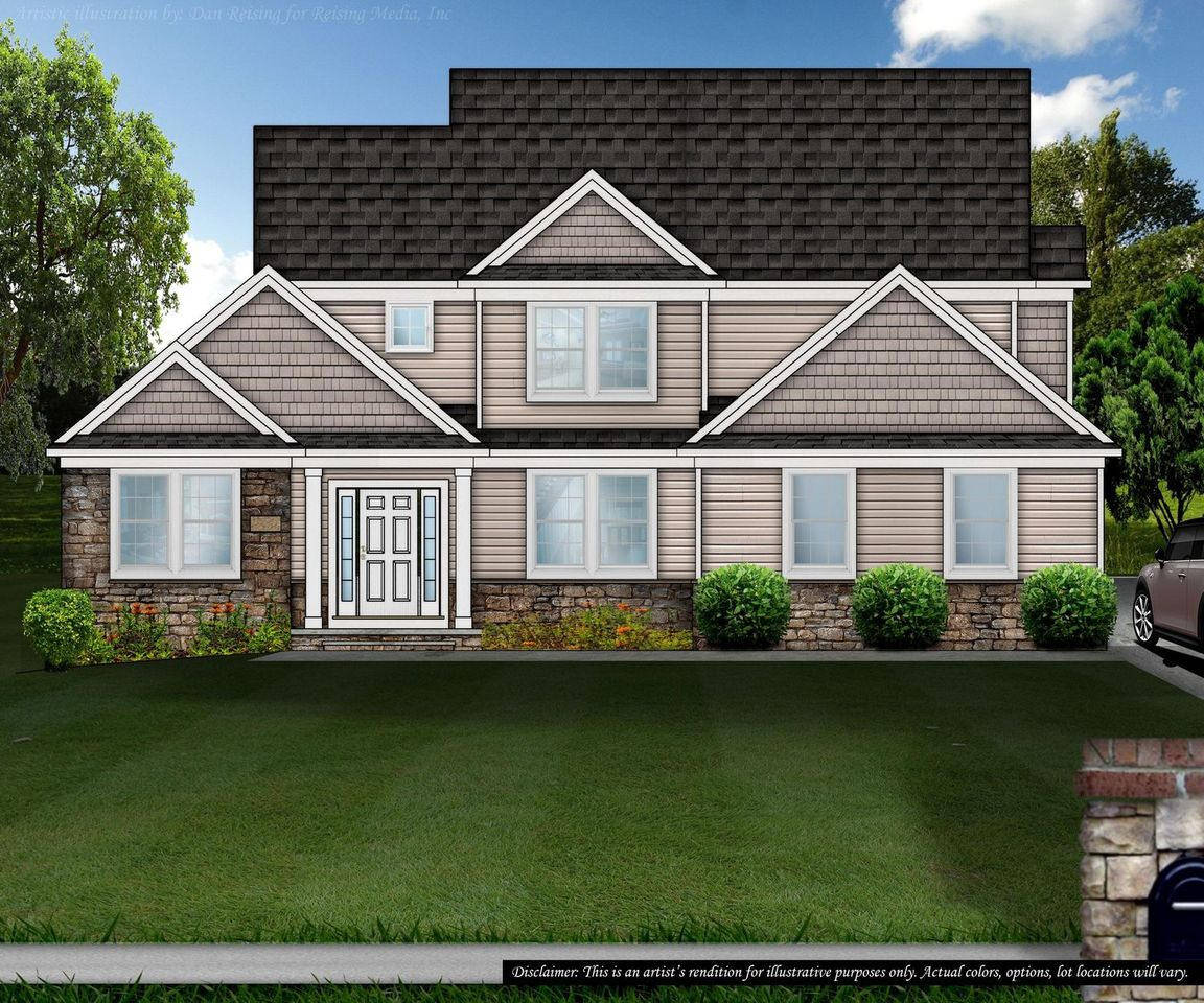 Ready To Build Home In Braemar Farms Community