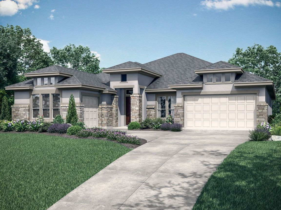 Ready To Build Home In Lexington Country Executive Series Community