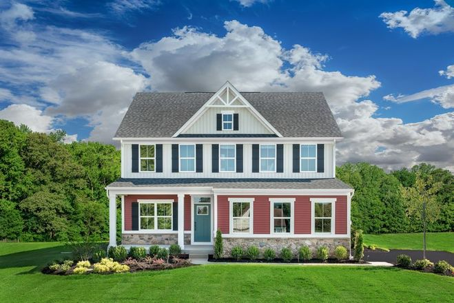 Ready To Build Home In Grove Crossing Community