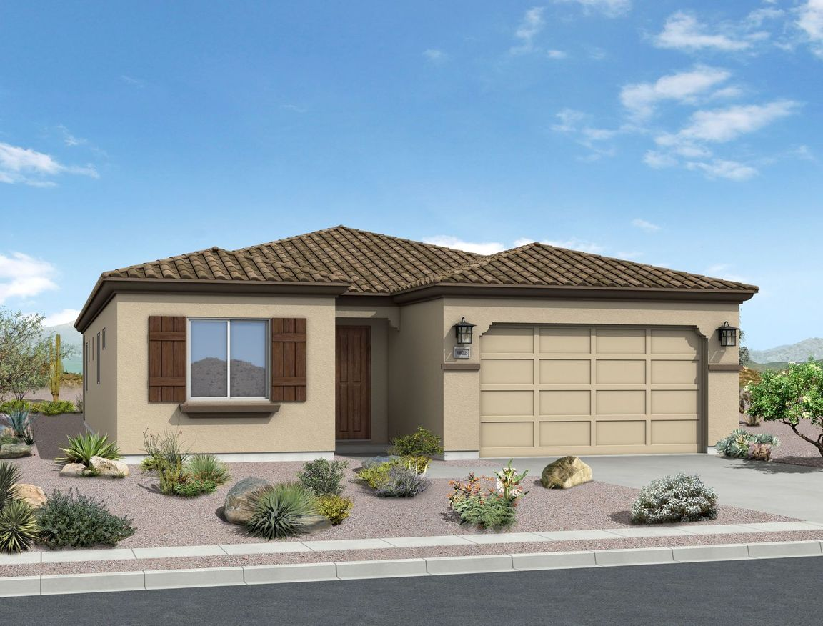 Ready To Build Home In Solterra Community