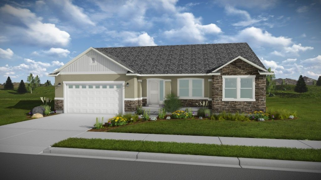 Ready To Build Home In Brandon Park Community