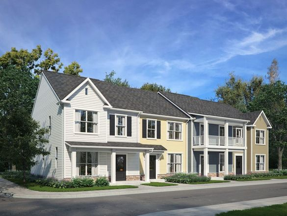 Ready To Build Home In Daleville Town Center Townhomes Community