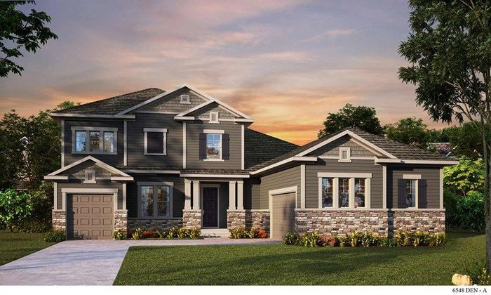 Ready To Build Home In Candelas Mountain View Community