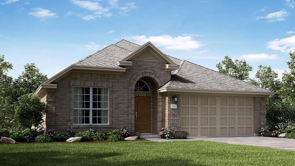 Ready To Build Home In Bayou Lakes - Wildflower Collections Community