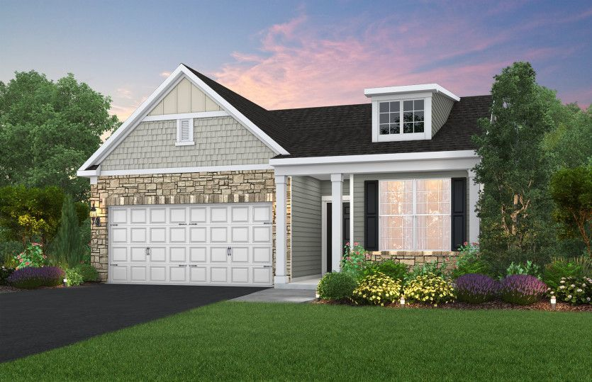 Ready To Build Home In Preserve at Rocky Fork Community