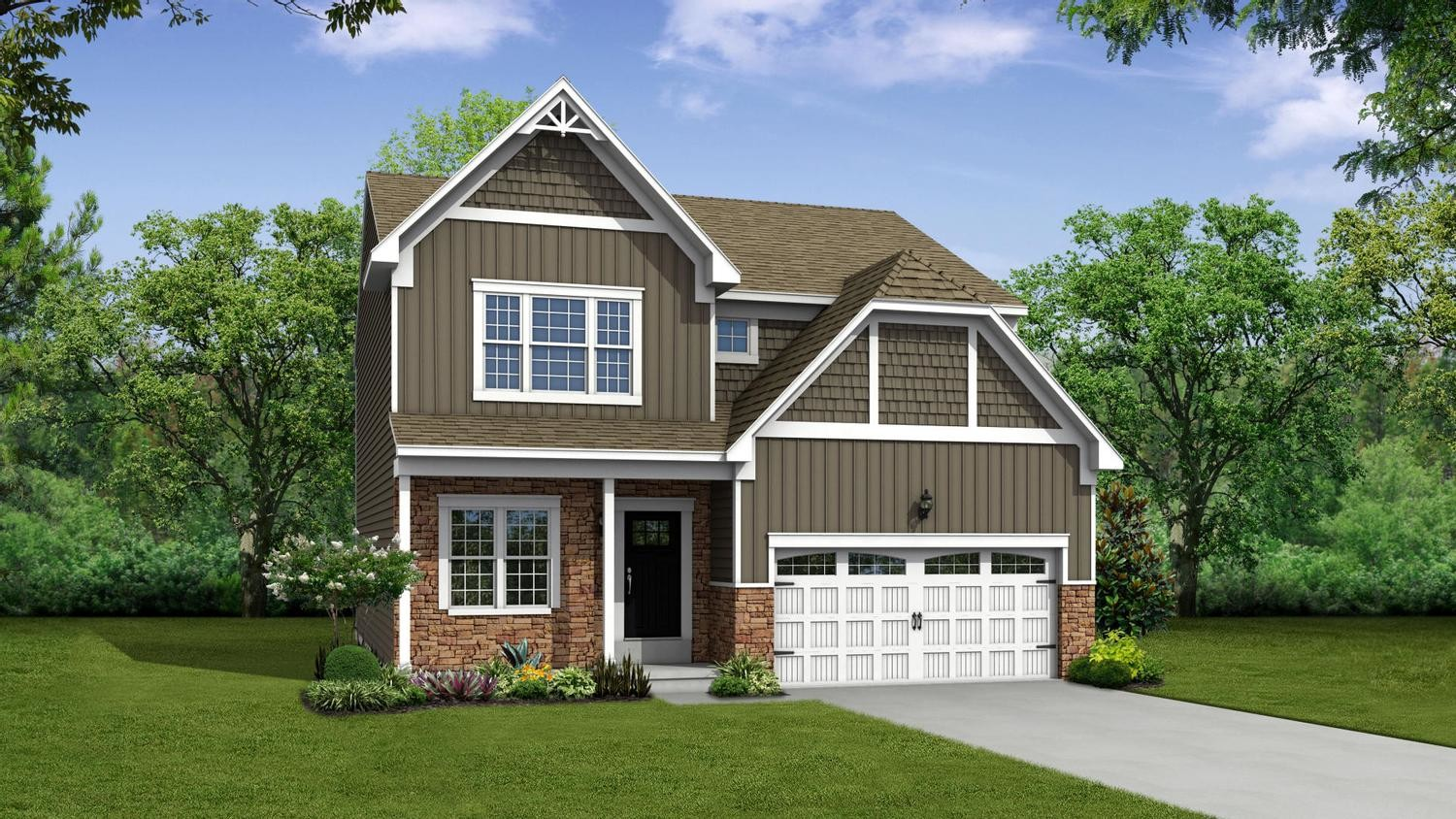 Ready To Build Home In Ashton Crossing Community