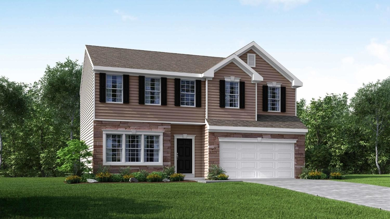Ready To Build Home In Marian Woodlands Community