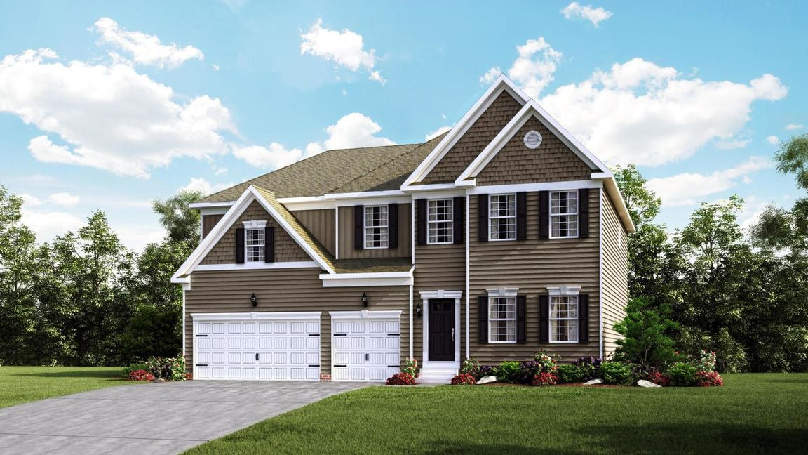 Ready To Build Home In Stoneridge Farms Community
