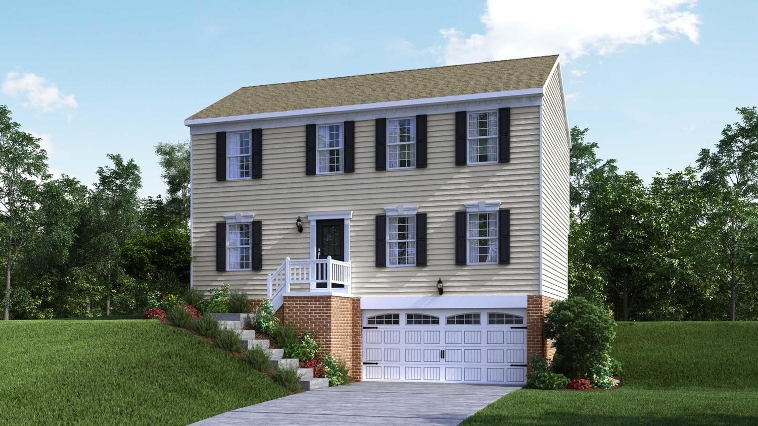 Ready To Build Home In Highland Meadows Community