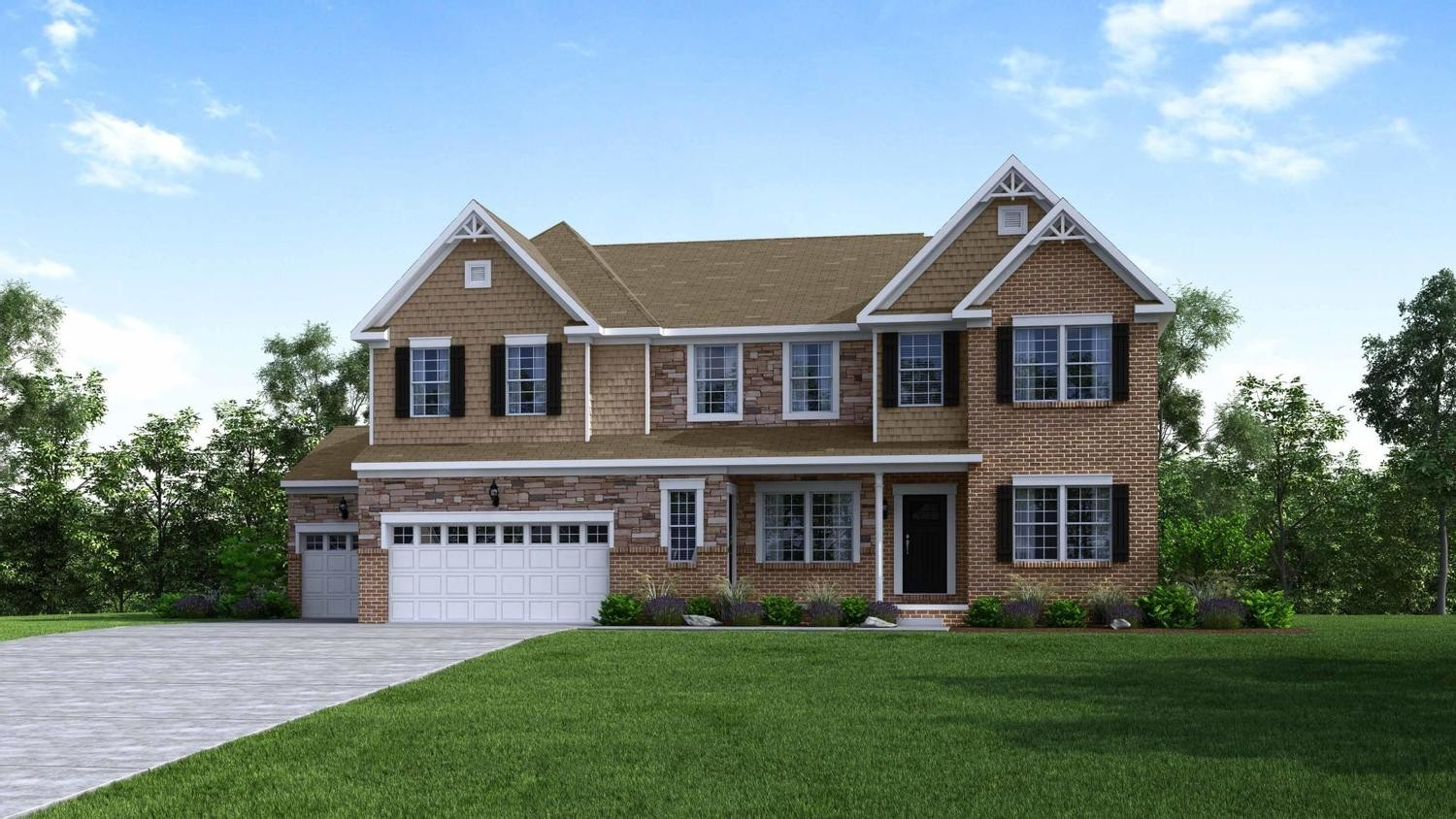 Ready To Build Home In The Reserve At Twin Lakes Community
