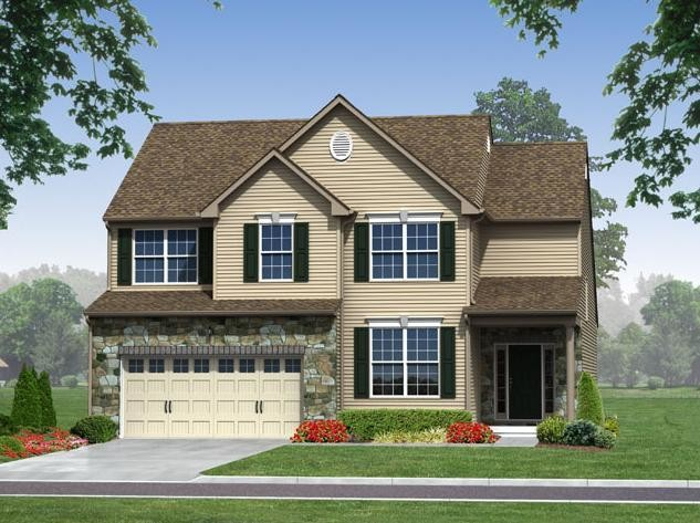 Move In Ready New Home In Trio Fields Community