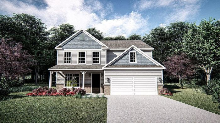 Ready To Build Home In Hardins Landing Community