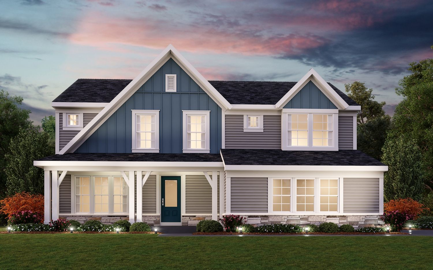 Ready To Build Home In Landings at Sugarcreek Community