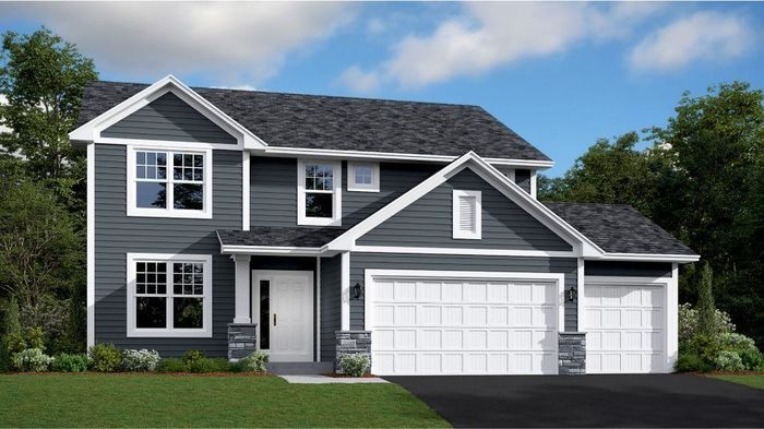 Ready To Build Home In River Pointe - The Highlands of River Pointe Community