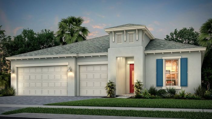 Ready To Build Home In Bridgewater at Viera - Classics Community