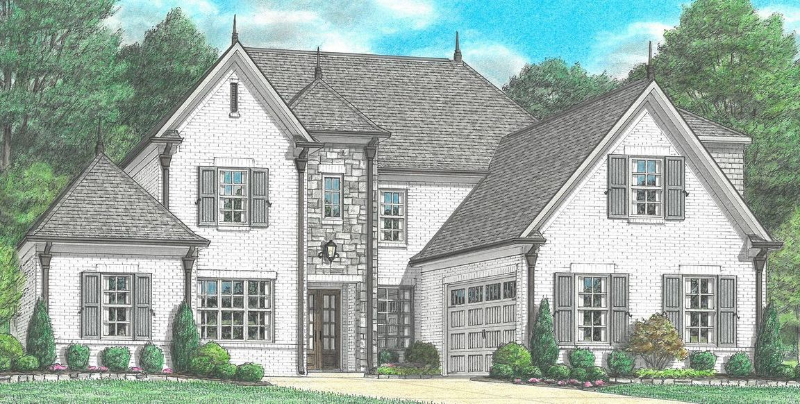 Ready To Build Home In Parkview Community