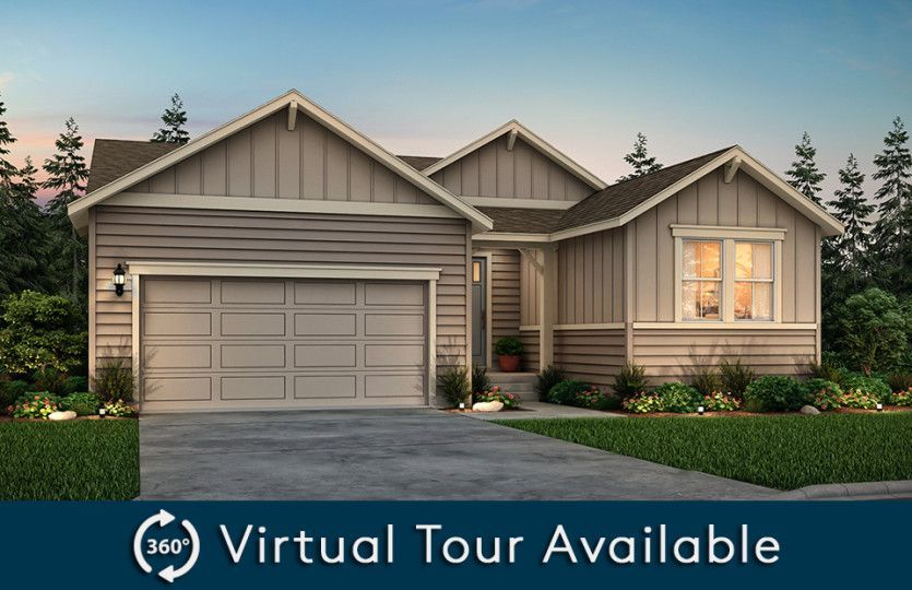 Ready To Build Home In Huntington Woods Community