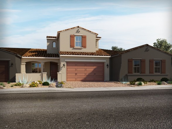 Ready To Build Home In Vistas at Palm Valley - The Villas Community