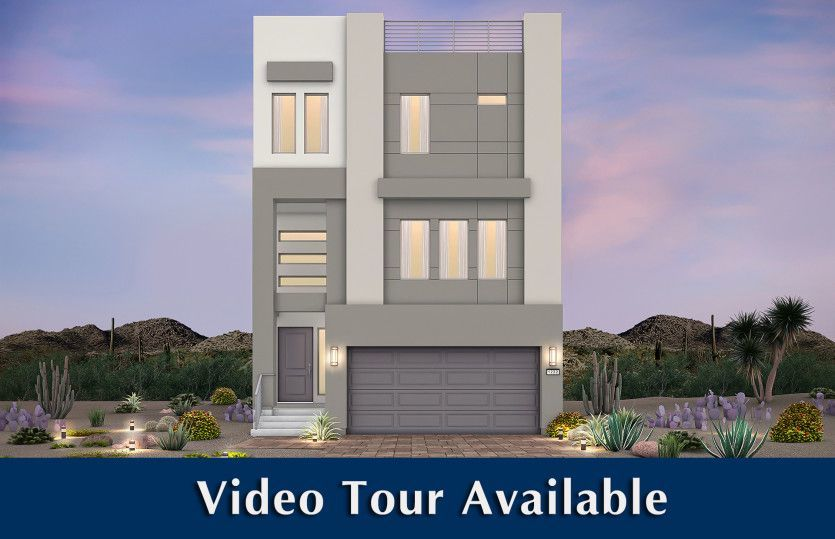 Ready To Build Home In Skyview Mesa Community