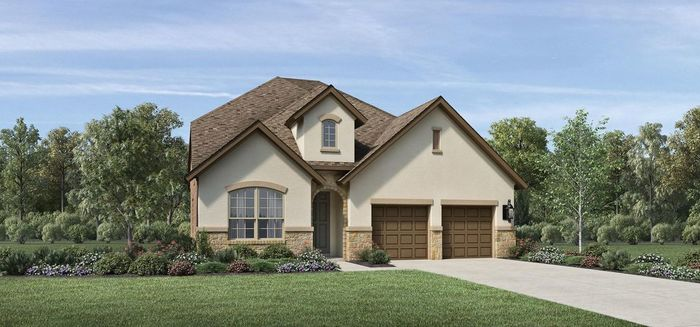 Ready To Build Home In Woodson's Reserve - Villa Collection Community