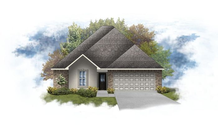 Ready To Build Home In Oak Trace Community