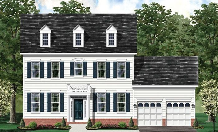 Ready To Build Home In Craftmark Homes - Custom Build on Your Lot (Leesburg) Community