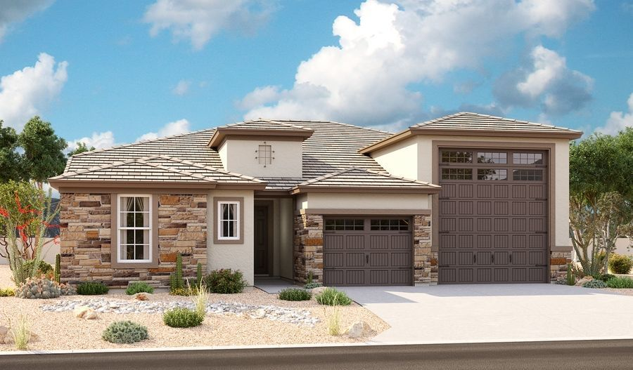 Ready To Build Home In The Preserve at Tuscano Community