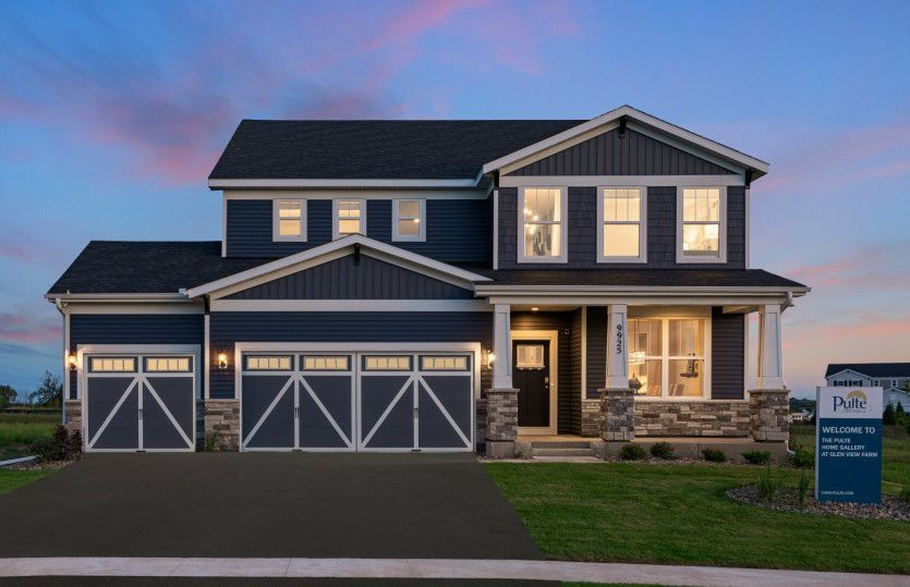 Ready To Build Home In Oakwood Ponds - Expressions Collection Community