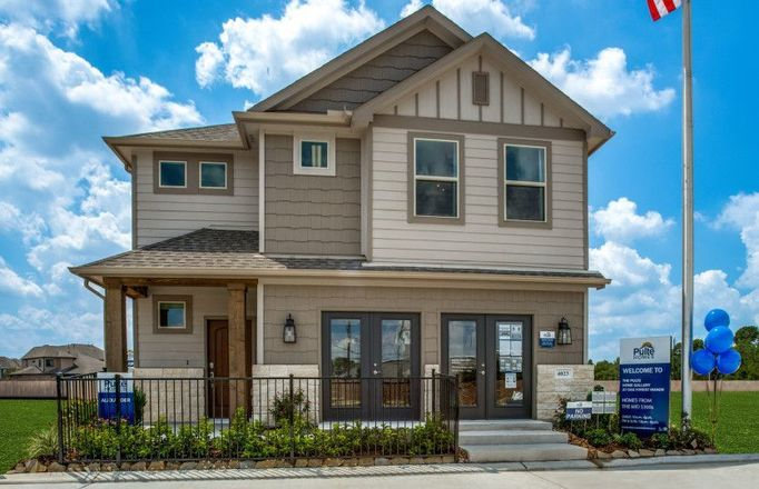 Ready To Build Home In Oak Forest Manor Community