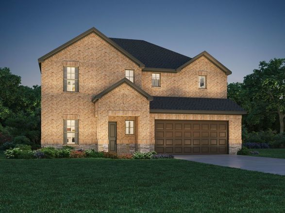 Ready To Build Home In Lavon Farms Community