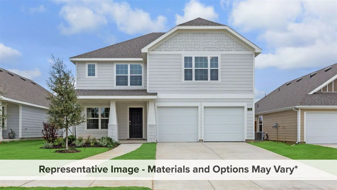 Ready To Build Home In Creekside Estates Community