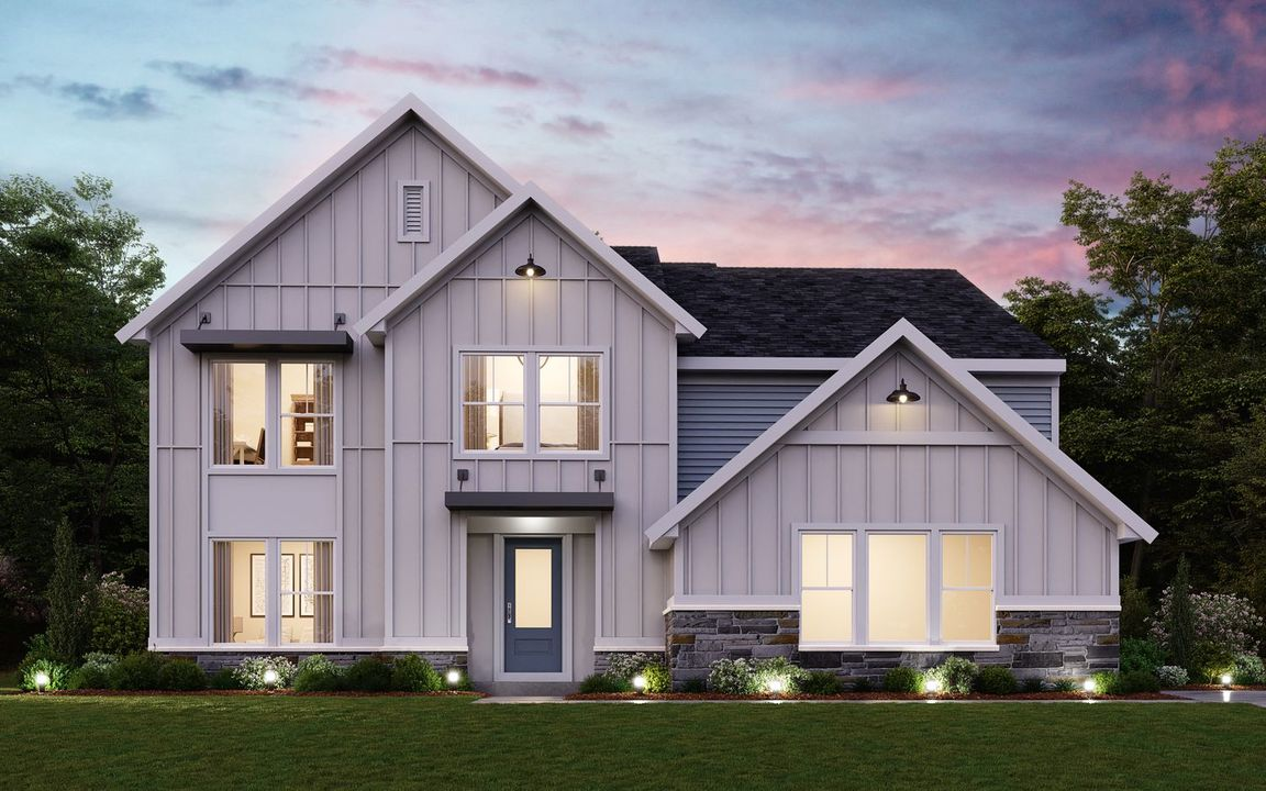 Ready To Build Home In Great Sky Community