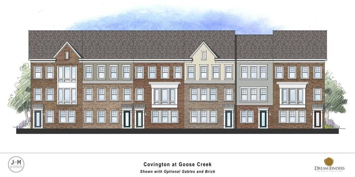Ready To Build Home In Woodlands at Goose Creek - Grand Townhomes Community