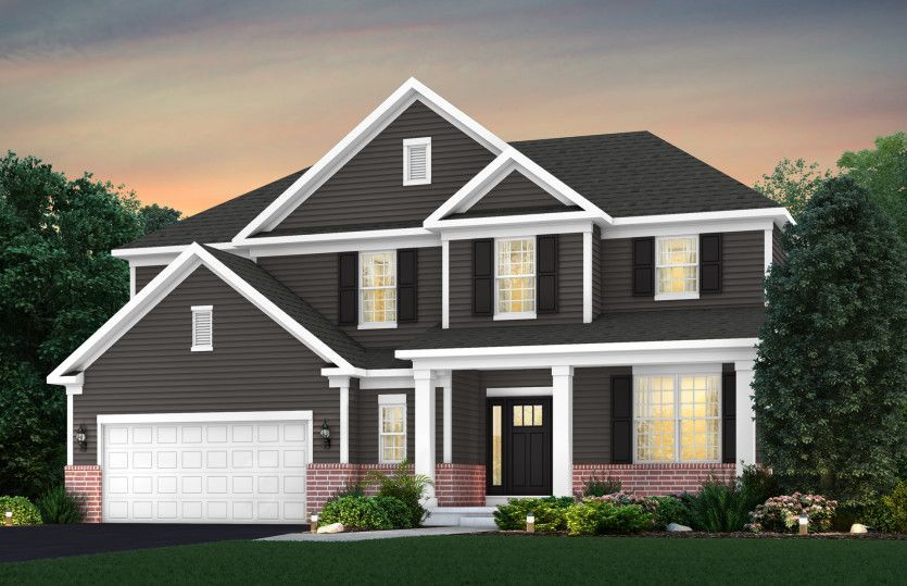 Ready To Build Home In Carpenters Mill Community