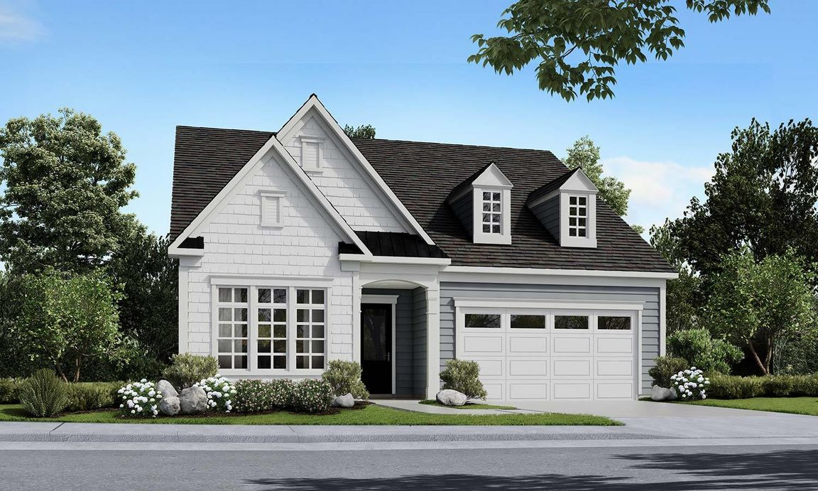 Ready To Build Home In Forge Creek Community