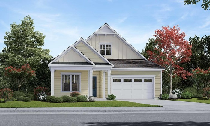 Ready To Build Home In Amblebrook Gettysburg Community