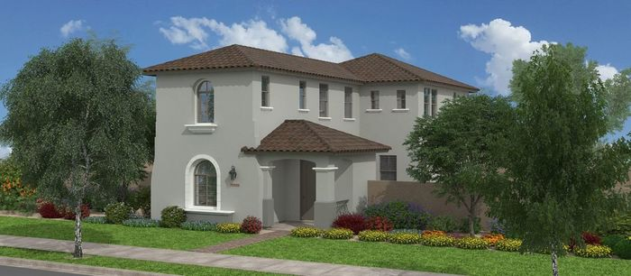Ready To Build Home In Southern Pacific at Cooley Station Community