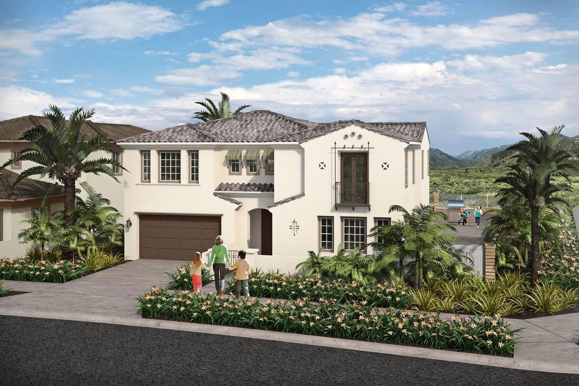 Ready To Build Home In Estancia at Otay Ranch Community